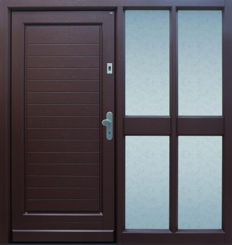 TOPIC Haustür front door Classic C140 T2 mit Seitenteil C101 www.topic.at