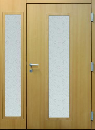 Haustür front door Current B11 T2 Buche mit Seitenteil ST-B11 – innen www.topic.at