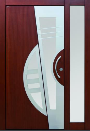 Haustür front door Current T3 Sonder mit Seitenteil ST-B1 www.topic.at