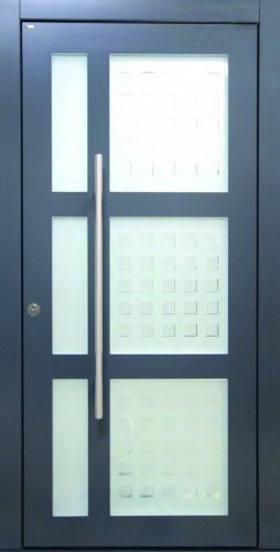 Haustür front door Current T2-Sonder mit Glasmuster nach Kundenwunsch www.topic.at