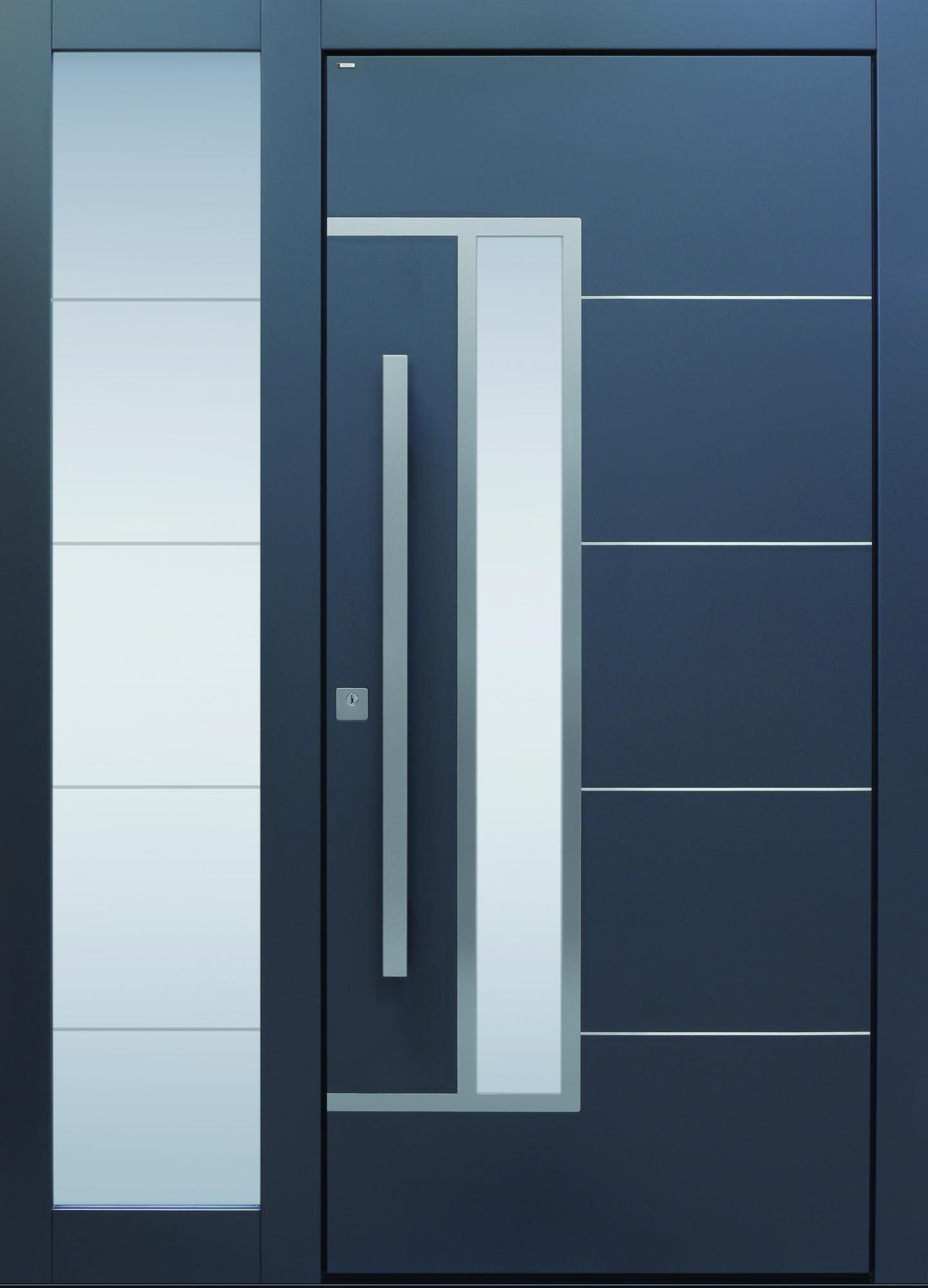 Haustüren mit seitenteil anthrazit  TOPIC - Haustüren von Meisterhand TOPIC Haustüren u. Wohnungstüren ...