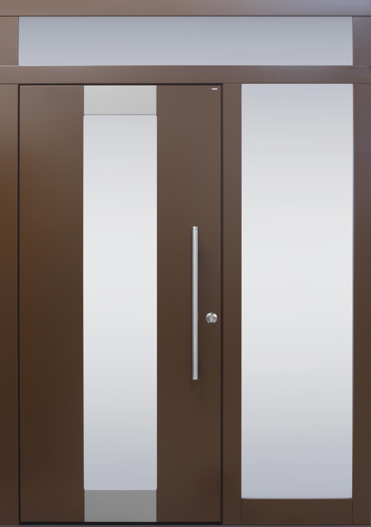 Ein Seitenteil und Oberlicht   Haustüren von Meisterhand - TOPIC die ...