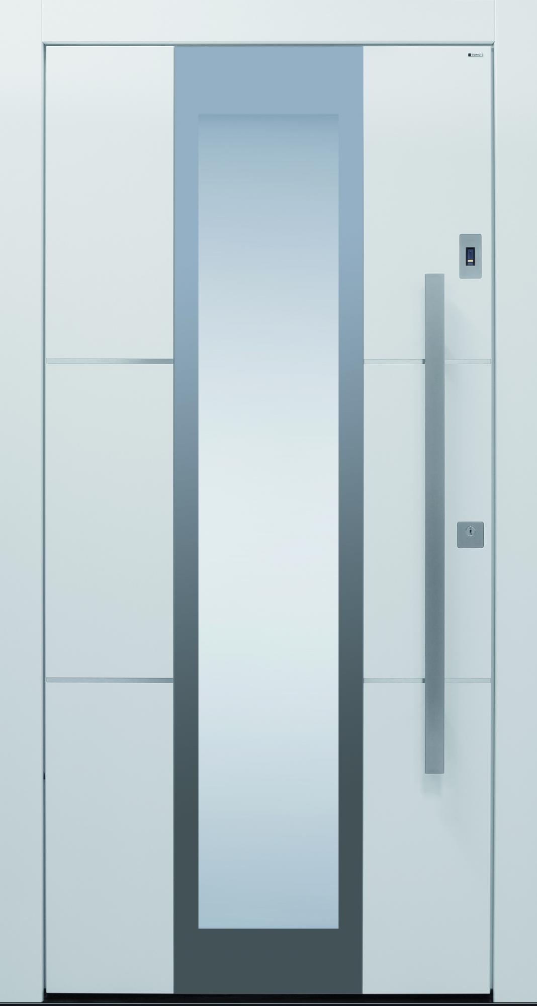 Haustür modern weiß  TOPIC - Haustüren von Meisterhand TOPIC Haustüren u. Wohnungstüren ...
