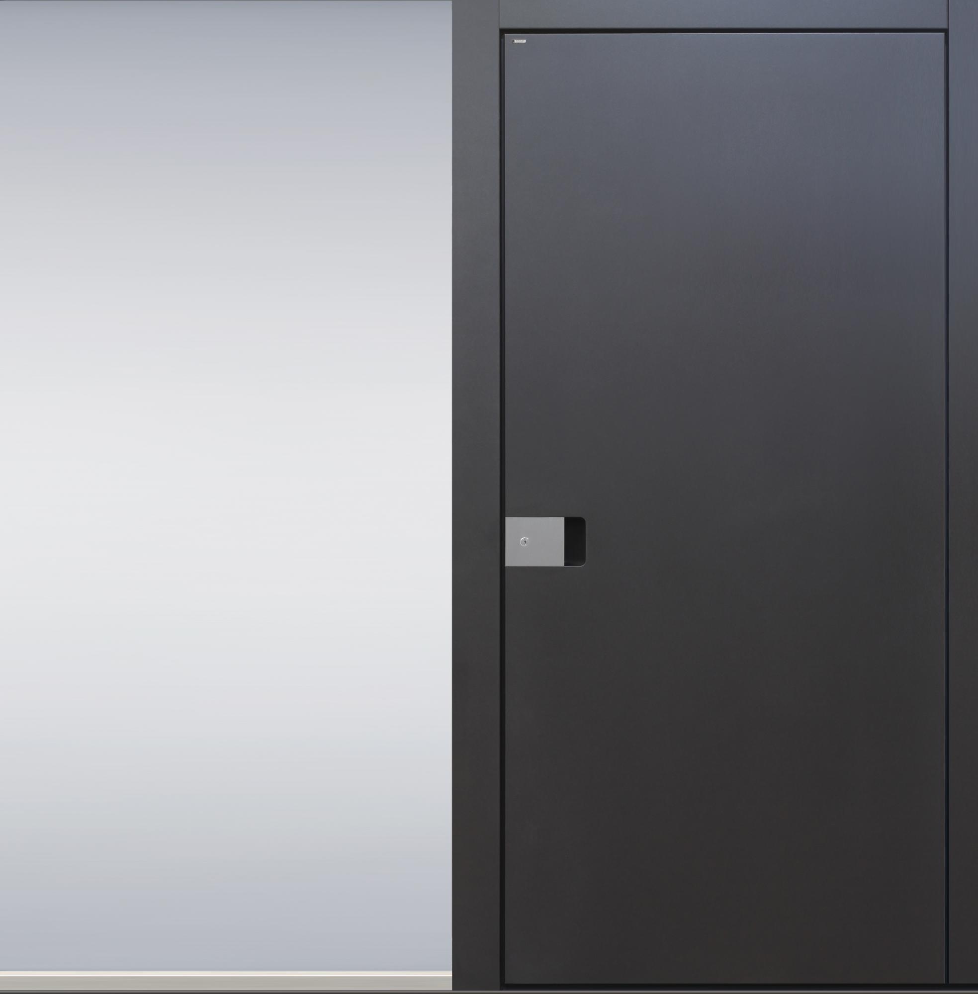 Haustüren anthrazit mit seitenteil  TOPIC - Haustüren von Meisterhand TOPIC - die Türenmanufaktur