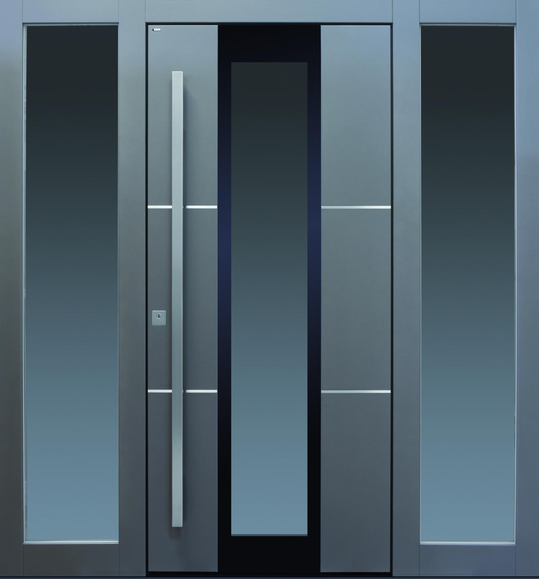 Haustür modern anthrazit  TOPIC - Haustüren von Meisterhand TOPIC - die Türenmanufaktur