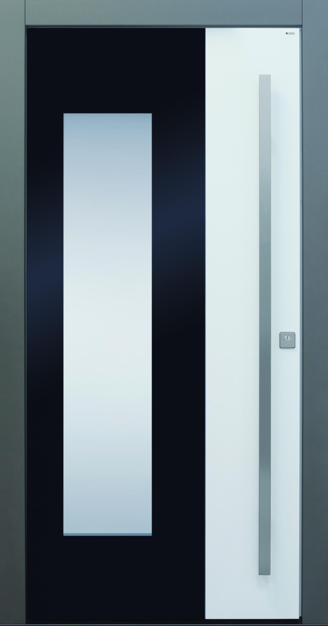 Haustüren weiß modern  TOPIC - Haustüren von Meisterhand TOPIC Haustüren u. Wohnungstüren ...