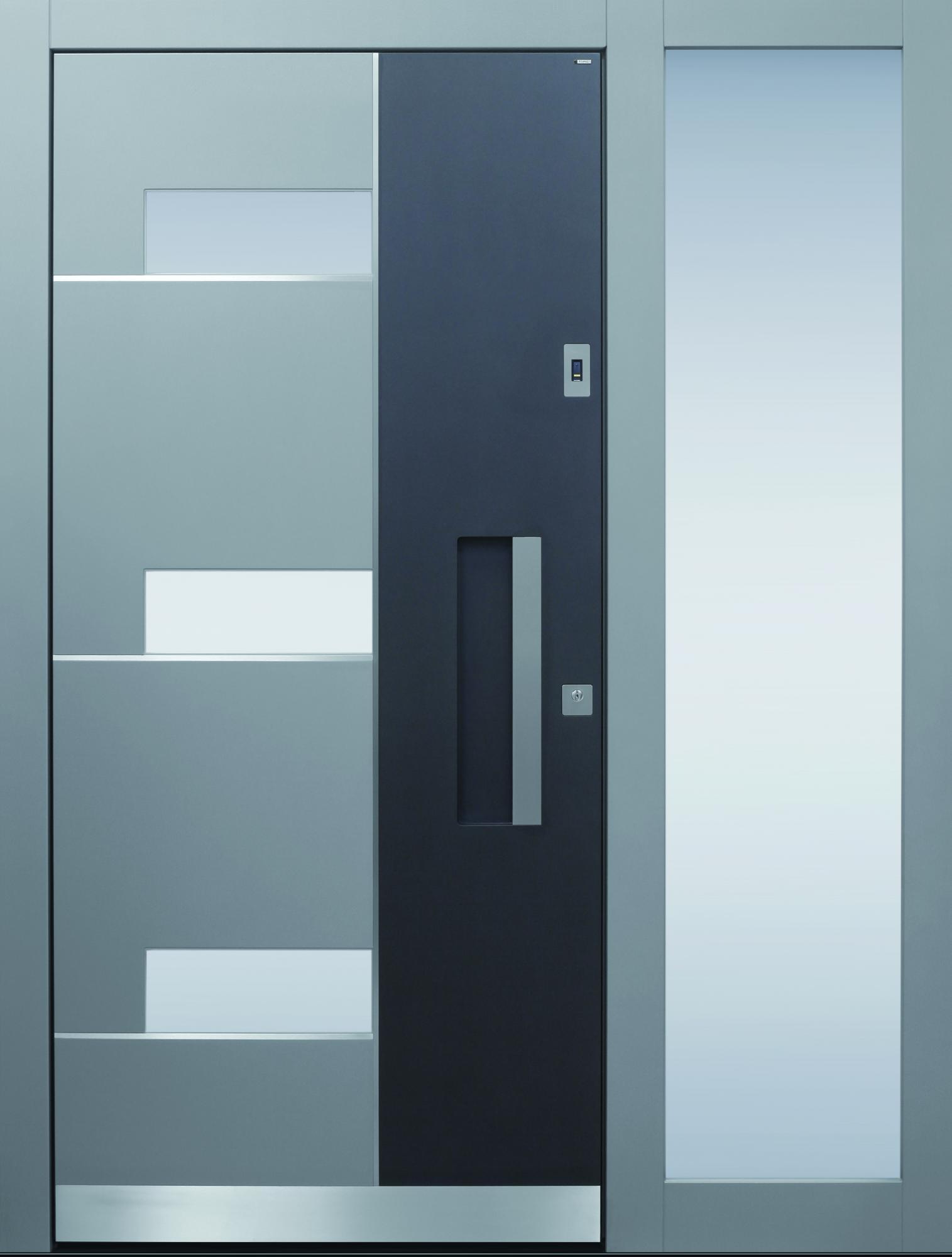 Haustüren modern holz mit seitenteil  TOPIC - Haustüren von Meisterhand TOPIC - die Türenmanufaktur