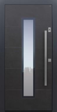 Haustüren modern, Keramik, anthrazit, Sicherheitstür, passivhaustauglich, besser als Alu, Glas