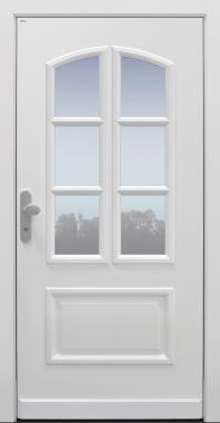 Haustür klassisch weiß Modell A752-T1