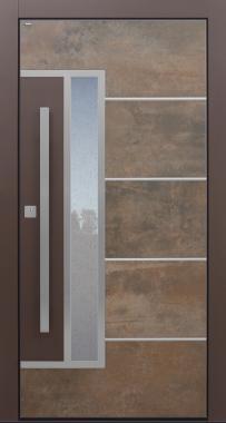 Haustür modern, Keramik, Lamiera, Sicherheitstür, passivhaustauglich, besser als Alu, Glas