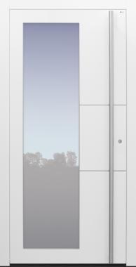 Haustür weiß Modell B55-T2