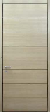 Haustür modern, XL, Holz, Eiche, Sicherheitstür, passivhaustauglich, besser als Alu