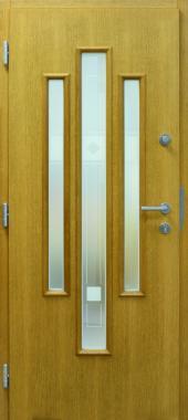 Haustür front door Classic A129 T1 mit Rahmen G100 innen www.topic.at