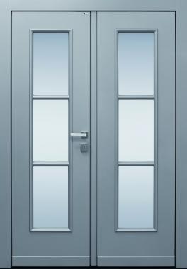 Haustür front door Classic A170 T1 zweiflügelig auf Kundenwunsch www.topic.at