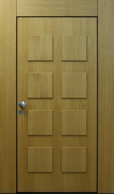 Haustür front door T2 Eiche Design auf Kundenwunsch www.topic.at