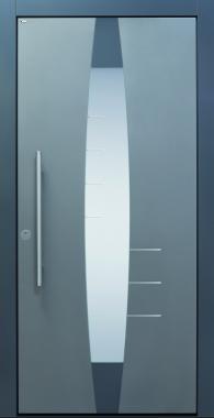 Haustür modern, grau und anthrazit, Current A403-T2