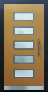 Haustür front door Current A471 T1 braunbeige www.topic.at
