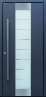 Haustür front door Current B11 T2 außenaufgehend mit verdeckt liegenden Bändern www.topic.at
