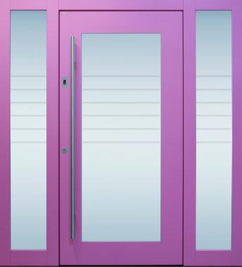 Haustür front door Current B34 T2 mit 2 Seitenteilen ST-B1 www.topic.at