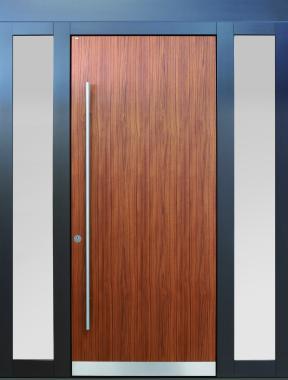 Haustür front door Current B9 T2 mit zwei Seitenteilen ST-B1 und Stockverbreiterung www.topic.at