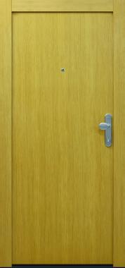 Haustür Holz Laubengangtüre Brandschutztüre Sicherheitstüre RC2 Eiche