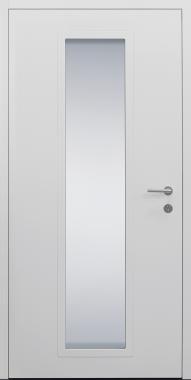 Haustür weiß Modell B11-T2 innen