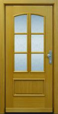 Haustür, Landhaus, Holz, Eiche, TOPICcore, Sicherheitstür, besser als alu, Seitenteil, Glas