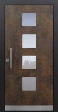 Haustür modern, TOPICcore, Exterior, Sicherheitstür, passivhaustauglich, besser als Alu, Glas