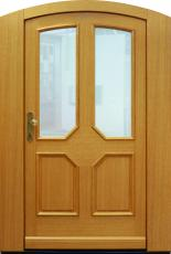 Haustür front door Classic A96 T1 Sonder mit Segmentbogen und Stockverbreiterung www.topic.at