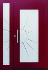 Haustür front door Current B34 T2 mit 1 Seitenteil ST-B1 www.topic.at