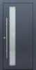Haustür modern, dunkelgrau, Topiccore, Sicherheitstür, passivhaustauglich, besser als alu, Glas