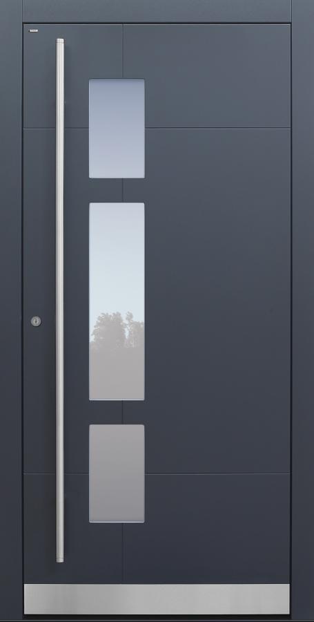 Haustür anthrazit mit Option Designpaket Modell A250-T1