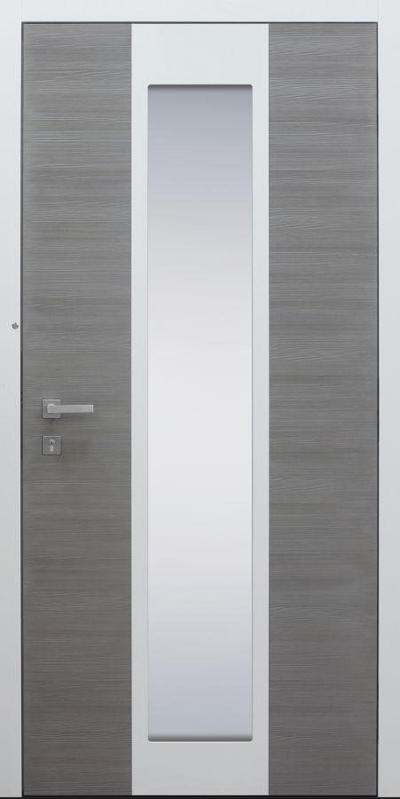 austür modern, Holz, Silverwood, Sicherheitstür, passivhaustauglich, besser als Alu, Glas
