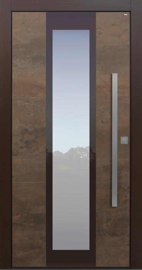 Haustür modern, Keramik, Lamiera ,TOPICcore, Sicherheitstür, passivhaustauglich, besser als Alu, Glas