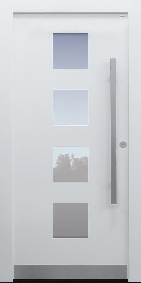 Haustür weiß Modell B60-T