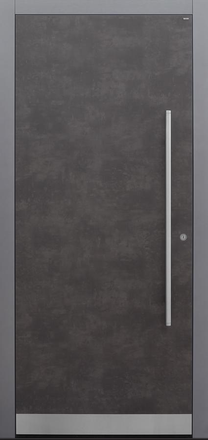 Haustür Exterior Prado Agate Grey mit Option Designpaket Modell B9-T1
