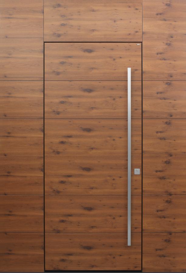 Haustür modern, Holz, Eiche, XL, Sicherheitstür, passivhaustauglich, besser als Alu