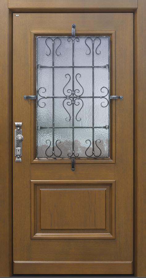 Haustür Landhaus klassisch rustikal, Eiche, Holz, Sicherheitstür, passivhaustauglich, besser als alu, Glas