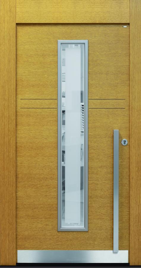 Haustür front door Current T-Sonder Eiche www.topic.at