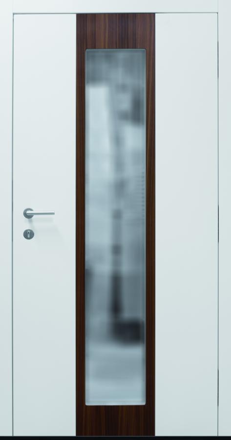 Haustür modern, weiß, Holz, Innenansicht, TOPICcore, Sicherheitstür, besser als Alu