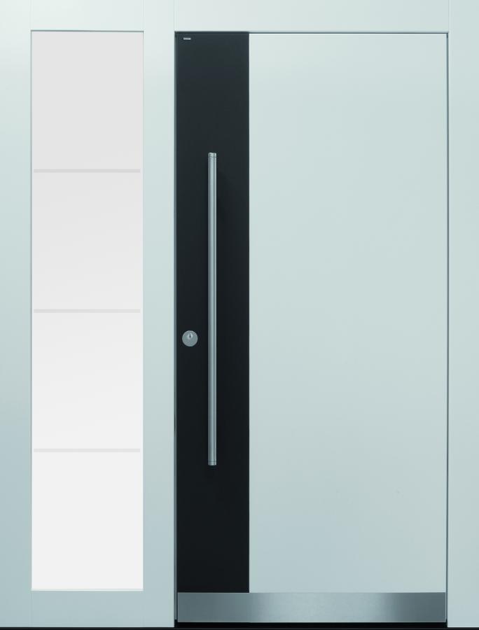 Haustür front door Current B9 T2 mit Seitenteil ST-B1 auf Kundenwunsch www.topic.at