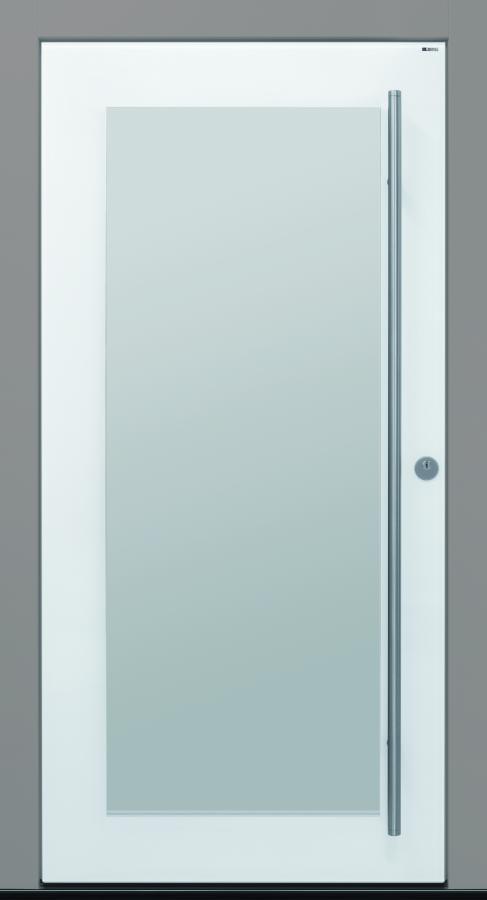 Haustür front door Current Pure02 T2 mit Vorsatzglas und Rahmen HFM 02 www.topic.at