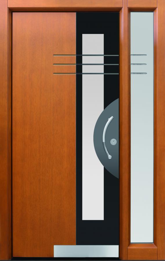 Haustür front door Shadow03 T3 mit Seitenteil ST-C101und Rahmen C101  www.topic.at