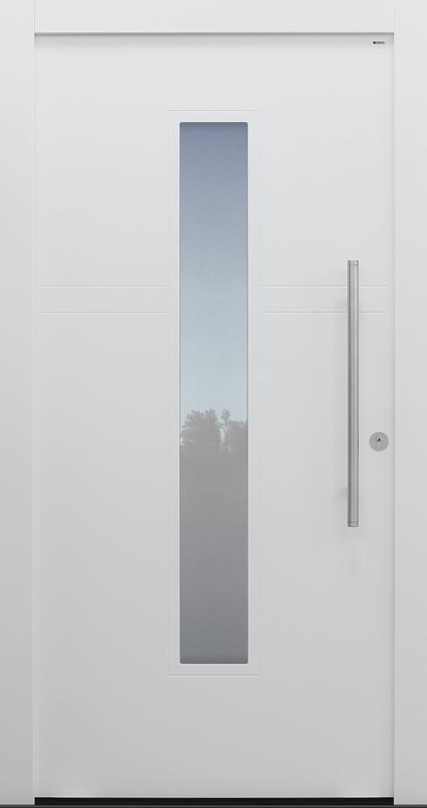 Haustür weiß Modell A483-T