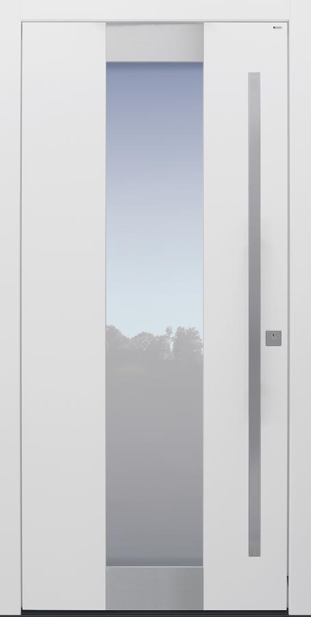 Haustür weiß Modell B11-T2