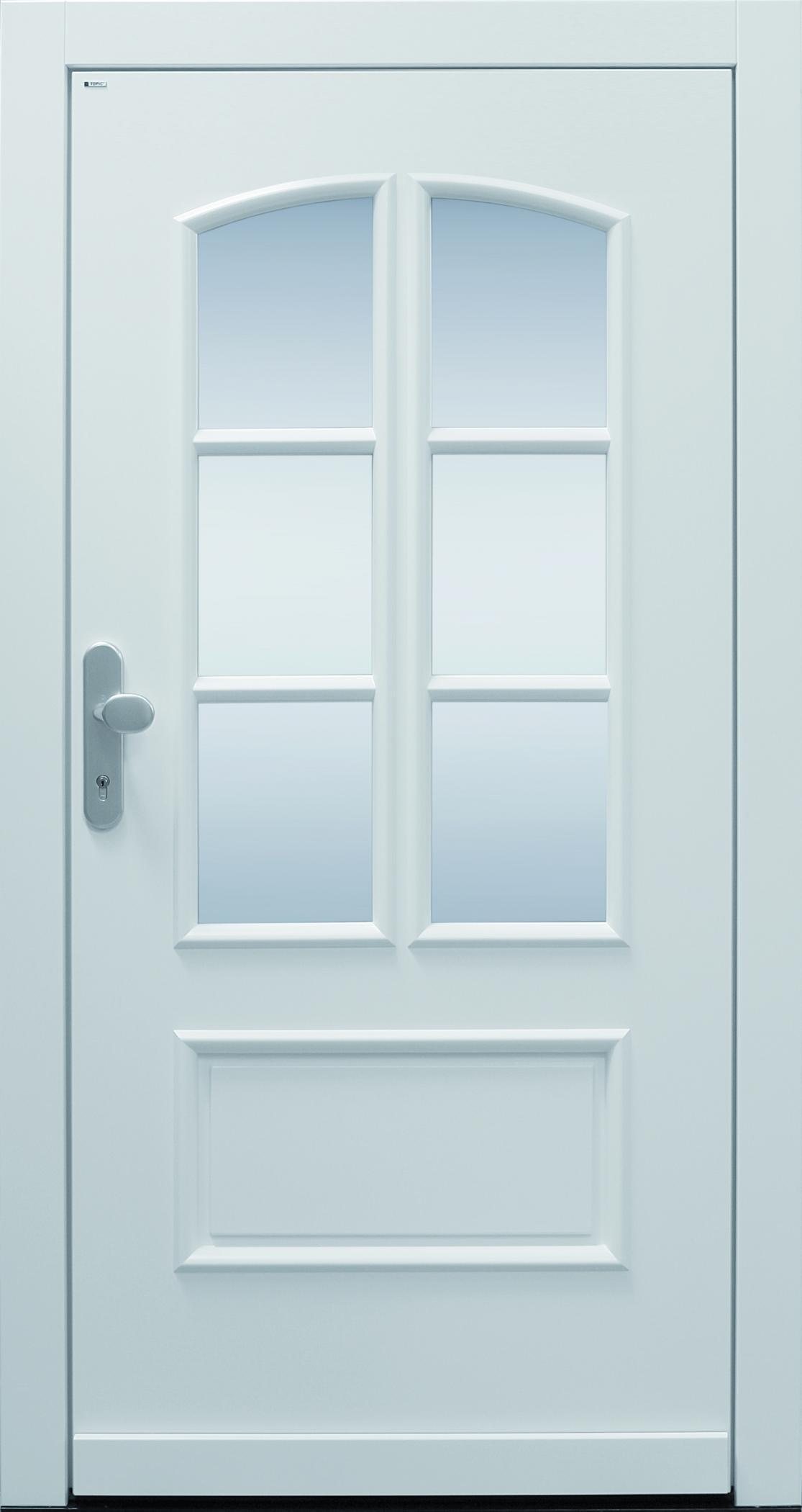 Haustür klassisch Landhaus weiß A752-T1 Classic | TOPIC ...